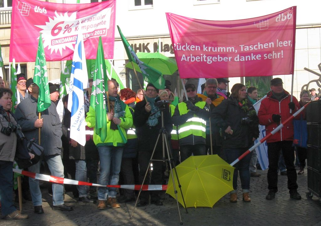 Warnstreik MD 14.02.2017